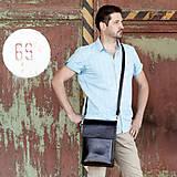 Tašky - Kožená pánska taška ZMEJSS - čierna - A4 - 9703090_