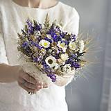 Kytice pre nevestu - Kytica Keď láska v zime kvitne - 9702122_