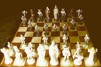Socha - Polní šachové figúry - 9702174_