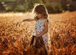 Detské oblečenie - Ľanové šatôčky Melisa - 9703219_