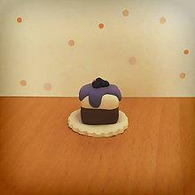 Hračky - Dezert ako z cukrárne (čučoriedkový koláč) - 9703612_