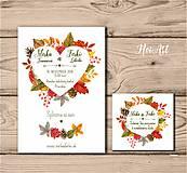 Papiernictvo - Svadobné oznámenie 46 - 9705682_