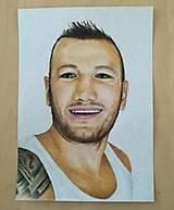 Kresby - Portrét A4 farebný - 9706216_