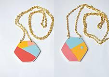 Náhrdelníky - Obojstranný minimalistický náhrdelník - 9704814_