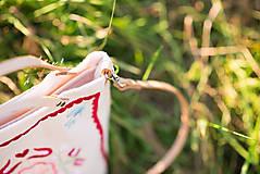 Veľké tašky - Vyšívaná taška Kvetna - 9706446_