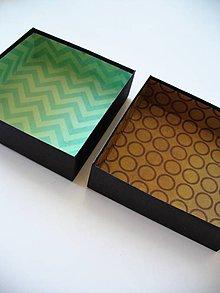 Krabičky - farebná zvnútra... - 9705295_