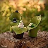 Dekorácie - Svadobné posedenie - figúrky na svadobnú tortu - 9706540_