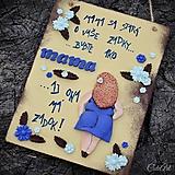 """Tabuľky - Náladová tabuľka """"Mama"""" - dvojstranná - 9706616_"""