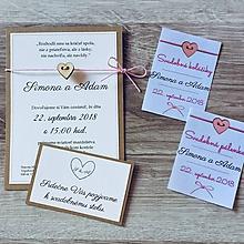 Papiernictvo - Svadobné oznámenia