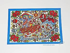 Papiernictvo - LOV RÝB ♥ klasická pohľadnica - 9706676_