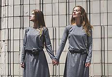 Šaty - TWINS - dlhé šaty - 9704979_
