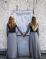 Šaty - TWINS - dlhé šaty - 9704987_