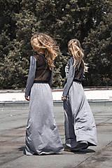 Šaty - TWINS - dlhé šaty - 9704997_