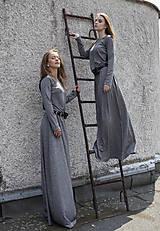 Šaty - TWINS - dlhé šaty - 9704998_