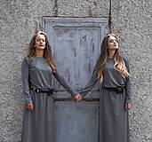 Šaty - TWINS - dlhé šaty - 9704999_