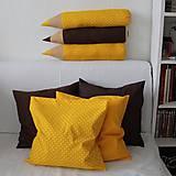 Úžitkový textil - Sada obliečok Lesný med - 9704791_