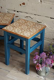 Nábytok - Vidiecky stolček no.2 - 9705133_