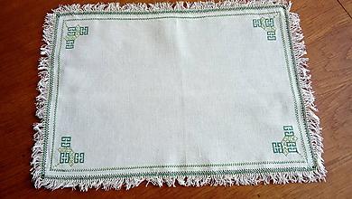 Úžitkový textil - Vyšívané prestieranie - jarné (4) - 9704429_