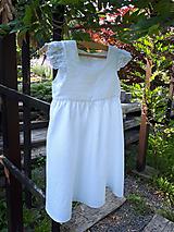 Detské oblečenie - Ľanové šatôčky Liliana - 9704087_