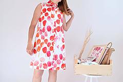 Šaty - Rozkvitnutá záhrada na šatách - 9707731_