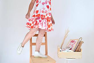Šaty - Rozkvitnutá záhrada na šatách - 9707593_