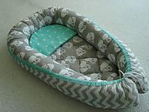 Textil - Hniezdo pre bábätko - 9708060_