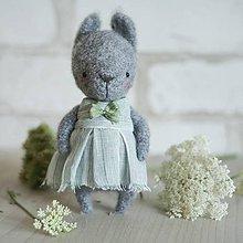 Hračky - Zajačik v šatach - 9707623_