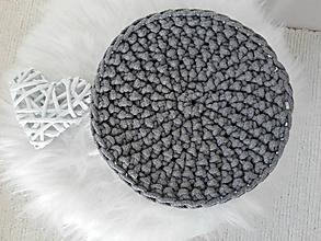 Úžitkový textil - Podložka Scandinavia tmavošedá - 9708405_