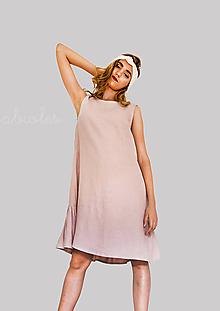 Šaty - Robe de Lin III - 100% ľan - 9706780_