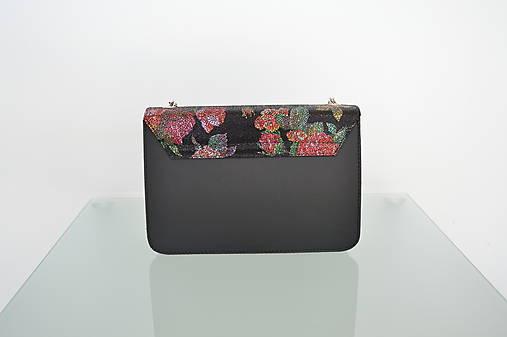 Kožená kabelka KATI čierna   Emmka-shop - SAShE.sk - Handmade Kabelky bfa1148611d