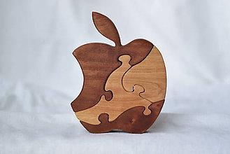 Hračky - Apple puzzle - 9707542_
