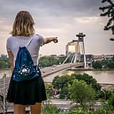 Batohy - Ručne maľovaný ruksačik - 9709577_