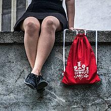 Batohy - Ručne maľovaný ruksačik - 9709562_