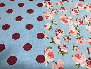 Úžitkový textil - romantický vankúš - 9706932_