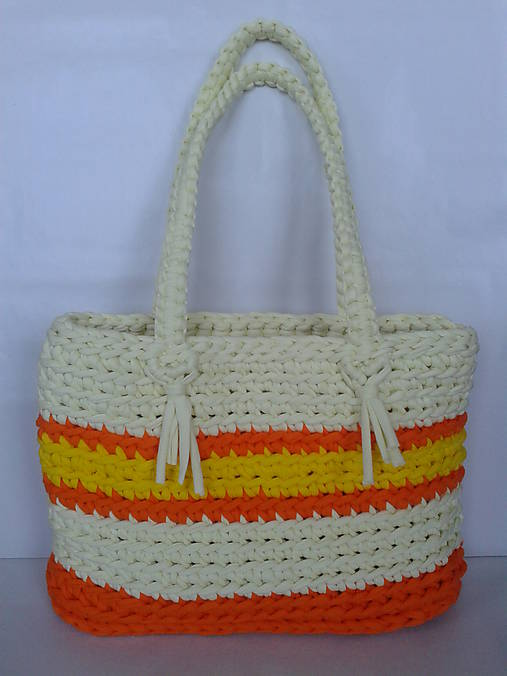 Žltá letná kabelka   Eliza64 - SAShE.sk - Handmade Kabelky 67101e72f17