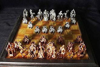 Socha - Sediaci šachové figúry - 9707626_