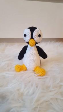 Hračky - háčkovaný tučniačik - 9709615_