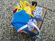 Hračky - Quiet Cube - Montessori kocka. - 9707455_