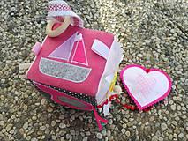 Hračky - Susugo Montessori kocka. - 9707521_