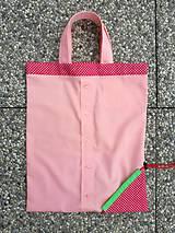 Nákupné tašky - Skladacia ekologická nákupná taška Jahoda. - 9707831_