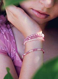 Náramky - Beauty princess - set náramkov - 9710423_