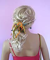 Ozdoby do vlasov - ...plstená ozdoba do vlasov... - 9710649_