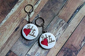 Kľúčenky - kľúčenka (láska) - 9710433_