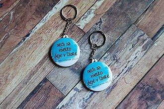 Kľúčenky - kľúčenka (v láske) - 9710438_