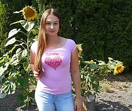 Tričká - zamilované prázdniny v záhrade I - 9709865_