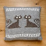 Úžitkový textil - antické mačičky - 9711050_