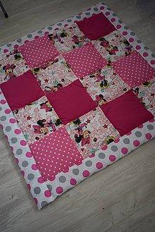 Textil - DĚTSKÁ PATCHWORKOVÁ DEKA ... - 9712694_
