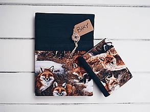 Papiernictvo - zápisník s líškami - 9712550_