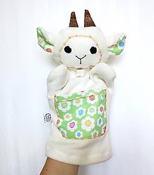 Hračky - Maňuška koza - Kozička od Jarnej lúky - 9711713_