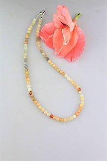 Náhrdelníky - mesačný kameň náhrdelník - adulár multicolor - 9712903_